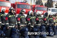 В Туве в рамках подготовки к паводкоопасному и пожароопасному периодам, состоялся смотр сил и средств
