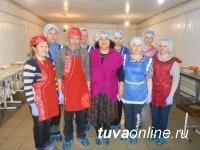 Буузы из тувинской говядины востребованы в гипермаркетах Абакана, а национальный «хуужуур» обожают в Тоора-Хеме