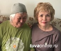 Дина Оюн поздравила Монгуша Бораховича Кенин-Лопсана с Днём рождения