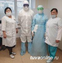 В Туве проверили готовность медработников инфекционного госпиталя к наплыву больных