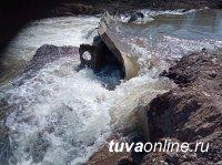 В Чеди-Хольском районе Тувы поднялся уровень воды в реке Элегес