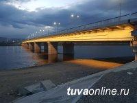В Туве к 9 мая Коммунальный мост засверкает иллюминацией