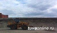 Тува: В райцентре Кызылского района приступили к модернизации дорог