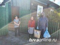 В Туве продуктовые наборы 65+ до конца мая получат 20387 жителей