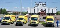 В Туву поступили 10 новых машин скорой помощи
