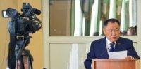 Глава Тувы Шолбан Кара-оол отчитается о работе правительства в 2019 году