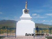 В Туве неизвестный варвар похитил из субургана статуэтку Будды