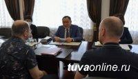 Глава Тувы встретился с руководителями группы специалистов Минздрава РФ