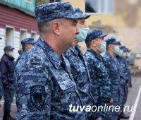Из Тувы на Кавказ направили сводный отряд