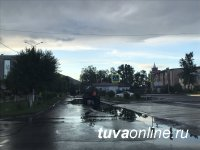 В Туве 18 июля ожидают усиление ветра и сильные дожди