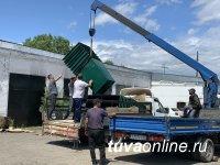 В Туве приобретены 130 мусорных контейнеров - Минприроды