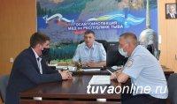 Тува: В Госавтоинспекции состоялась рабочая встреча с официальным дилером LADA в городе Кызыле