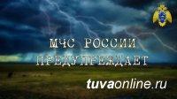В Туве 1 июля ожидают дожди, грозы и град