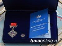 Трое ребят из Тувы награждены нагрудным знаком «Горячее сердце»