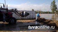 В охваченных паводком районах Тувы вода начала отступать