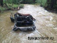 В Туве водителей просят не выезжать в районы, где разгулялся паводок