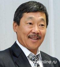 Мэр Кызыла поздравил с Днем рождения председателя Общественной палаты Тувы Анатолия Дамба-Хуурака