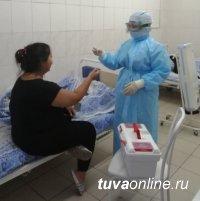 Тува. За сутки на 19 июля выявлено 40 случаев инфицирования COVID-19, выздоровели 123 пациента
