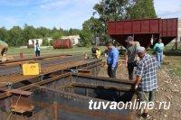 В Тандинском районе Тувы строят зерноток с зернохранилищами