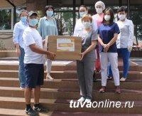 Семь медучреждений Тувы получили гуманитарную помощь в рамках акции #МыВместе