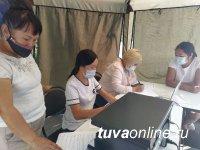 Тува: В администрации Кызылского района провели масштабную дезинфекцию