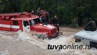 В Туве во всех районах сняли введенные из-за паводка режимы ЧС