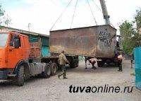 В столице Тувы сносят незаконные постройки