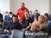 Борцы Тувы обсудили настоящее и будущее хуреша