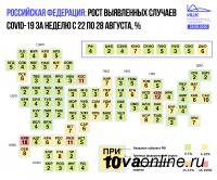 Коронавирус в Республике Тыва по-прежнему распространяется медленнее, чем в среднем по Сибири и России