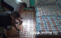 В Туве задержали рецидивистов-грабителей