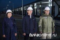 Президенту доложили, что строительство Медцентра в Туве будет завершено в срок