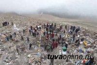 В Туве восстановлено священное Оваа в горах Бай-Тайги, сгоревшее от удара молнии