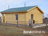 В Пий-Хемском районе Тувы завершают строительство трех ФАПов