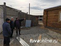 Спикер парламента Тувы проинспектировал стройки на своем избирательном округе