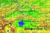 Землетрясение силой 4,3 балла произошло под Шагонаром в Туве