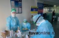 В Туве на 25 октября 72 заболели COVID-19