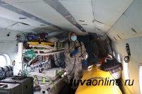 «Тува Авиа»: Вертолеты тоже дезинфицируют