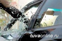 В Кызыле подросток угнал автомашину, разбив стекло
