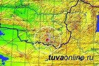 В Туве произошло землетрясение. Эпицентр находился неподалеку от границы с Монголией