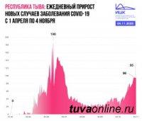 Республика Тыва – единственный регион Сибири, где с начала осени ежесуточно выявляют менее 100 новых случаев COVID-19