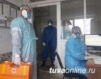 В Туве на 17 ноября за сутки выявлено 103 новых случаев инфицирования COVID-19