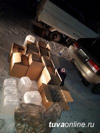В Туве задержали неудавшихся производителей нелегального алкоголя