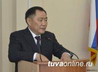 Глава Тувы Шолбан Кара-оол в День Конституции РФ выступит с ежегодным Посланием к Верховному Хуралу
