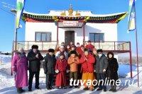 В Туве интернациональный район прирастает буддийской и православной святынями