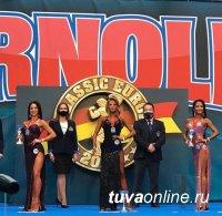 Бодибилдер из Тувы Татьяна Сонгуваа среди лучших на турнире в Испании Arnold Classic