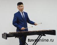 Тува: Соло на ксилофоне с симфоническим оркестром