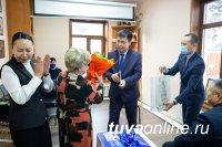 В Туве отремонтировали художественное отделение Детской школы искусств им. Н. Рушевой