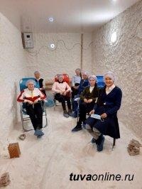 #ГрантыРосмолодежи2020. В рамках проекта ТувГУ «Соляная комната» в байтайгинском селе Шуй проводятся оздоровительные сеансы