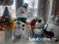 Самодельная елочная игрушка 10-летнего Кузела признана в Кызыле лучшей