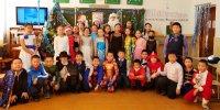 В образовательных организациях Тувы начались новогодние утренники